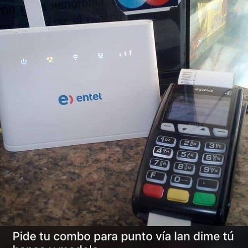internet para puntos de venta todos los bancos