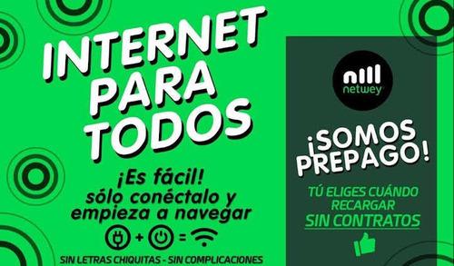 internet pre-pago netwey