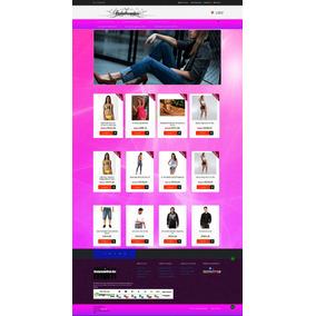 c43642655 Loja Virtual P/venda De Roupas E Calçados + 1 Ano Hospedagem