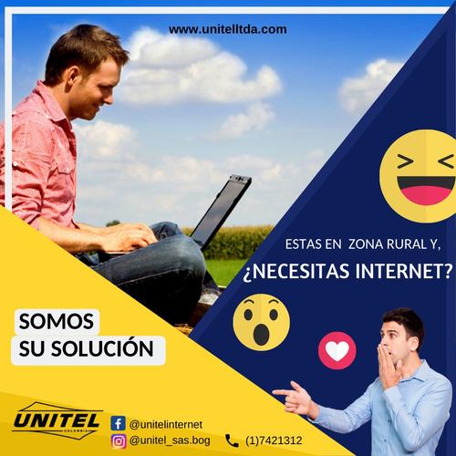 internet rural de alta velocidad