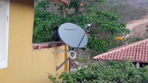 internet rural via satelite