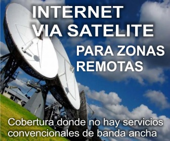 internet satelital / 1 mega usd 300 / libre / comodato