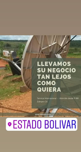 internet satélital ilimitado digitel lte 4g radio enlace
