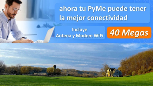 internet satelital pymes campos
