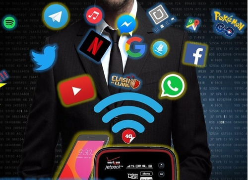 internet veloz rapido 4g lte linea digitel rj45 bam 500gb