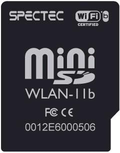 internet wi-fi sdio card spectec - minisd treo 750 ipaq wifi