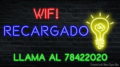 internet wifi sin fin ilimitado recargable