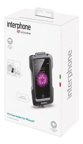 interphone suporte moto guidão galaxy s8 plus / s7 edge
