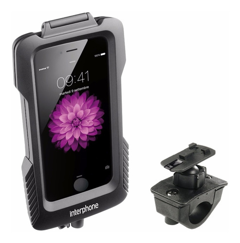interphone suporte para moto guidão pro case iphone 6