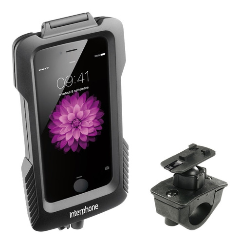 interphone suporte para moto guidão pro case iphone 6 e 6s
