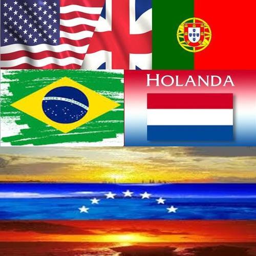 interpretes públicos en portugués, inglés y holandés