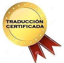 intérpretes y traductores (certificado)