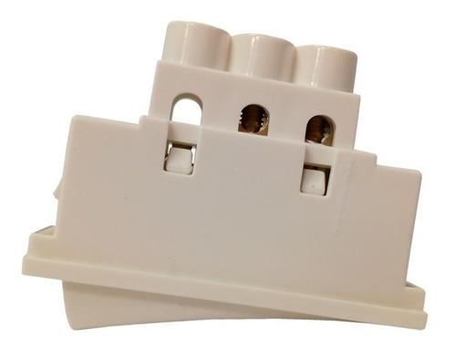 interruptor 1 punto 1 mod blanco silight brava llave luz chico