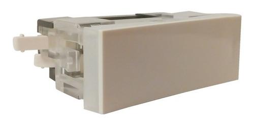 interruptor 1 punto tecla 10a blanco 130v / 250v  llave luz