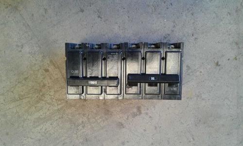 interruptor  3 polo para gabinete de 90 amp  cutler-hammer