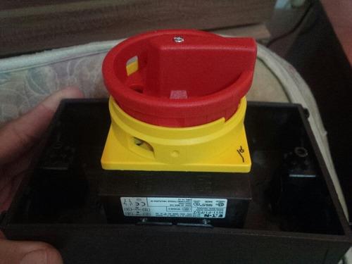 interruptor 3 polos 690 v, 25 a. eaton moeller. p1-25/ea/svb