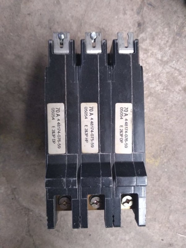 interruptor 70 amp cat. edb34070 240v 480y/277v