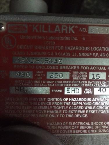 interruptor a prueba de explosion breaker