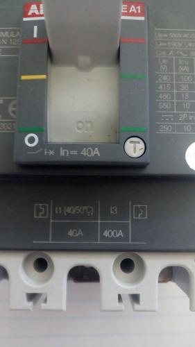 interruptor abb formula a1n125 tmf 40-400 3polos 690vac
