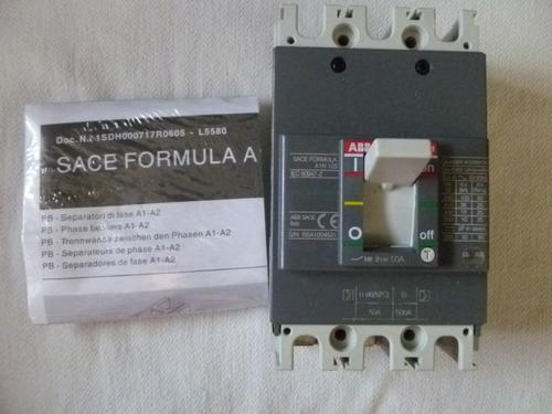 interruptor abb formula a1n125 tmf 50-500 3polos 690vac