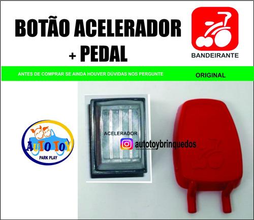 interruptor acelerador bamdeirante + pedal