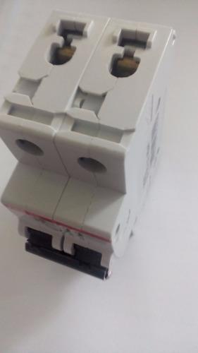 interruptor aut modular abb s202 c4amp 2 polos. 400v 60hz