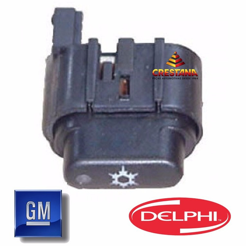 interruptor botao do ar condicionado prisma celta 93319379