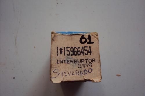 interruptor circulador ar-condicionado silverado 97 orig.gm
