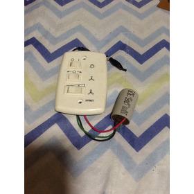 Interruptor Com Controle De Ventilador De Teto E Capacitor