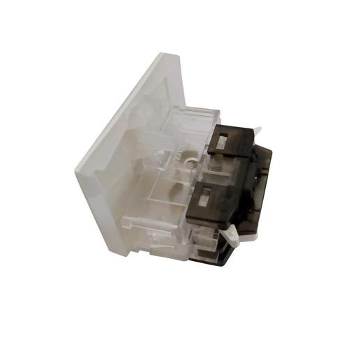 interruptor combinacion 1 tecla 10a blanco sica 2 modulos