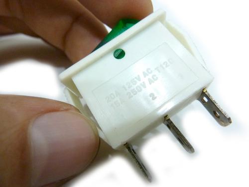 interruptor de 2 posiciones juego x5 unidades