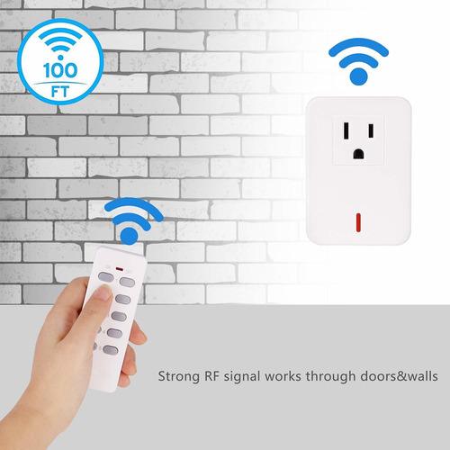 interruptor de control remoto inalámbrico de salida de luz