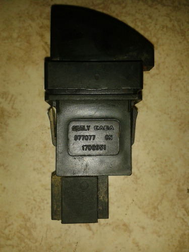 interruptor de luces auxiliares gelly ck 2007