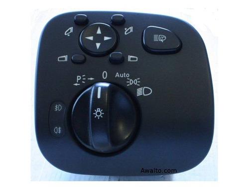 interruptor de luces principales y espejos mercedes benz w20
