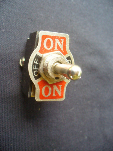 interruptor de palanca, doble on- off- on multi uso