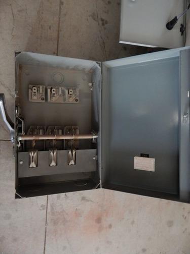 interruptor de seguridad 200 amp 3 polos 600 v cutler hammer