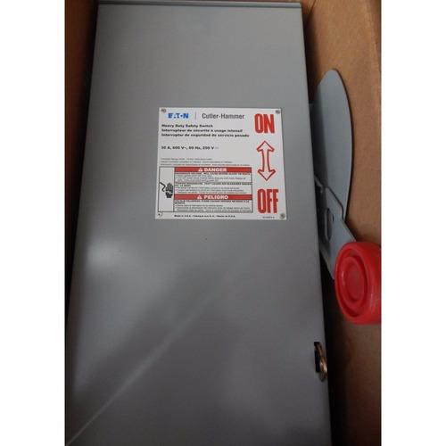 interruptor de seguridad 30 amp