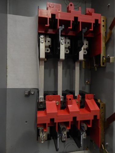 interruptor de seguridad de doble tiro 30 a, 600 v