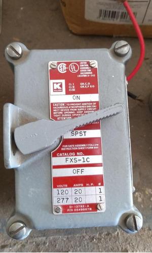 interruptor de tambor fxs-1c 120/127 v 20 amp