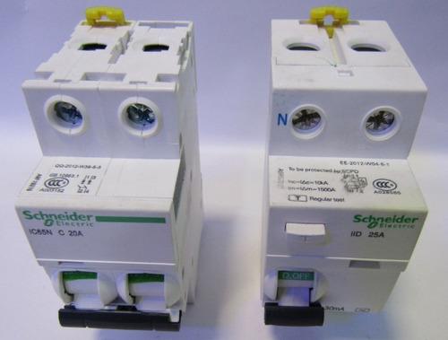 interruptor diferencial sassin 3sl36 2p 25a.