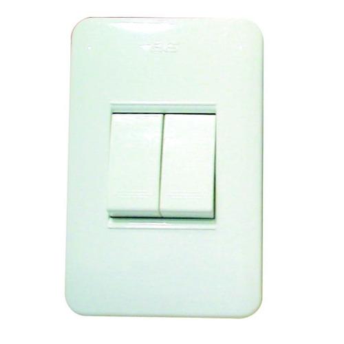 interruptor doble blanco boreale ave 13011 antes 31729 ue x
