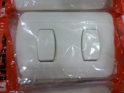 interruptor doble bticino nuevo