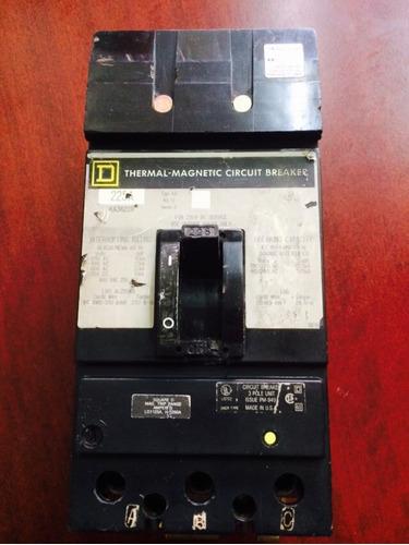 interruptor i-line 225 amp square d