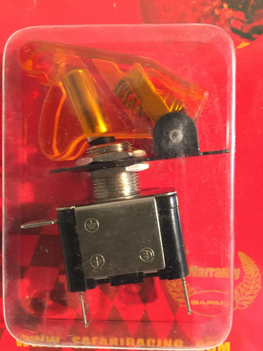 interruptor llave switch c/ led tuning luces tapa verde