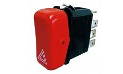 interruptor luz 24v   emergencia   mbb, agrale, atm