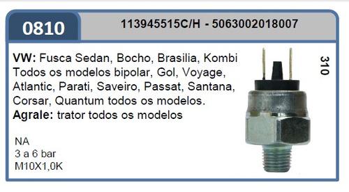 interruptor luz freio ma2ò-810 vw agrale 0,5a2,0bar