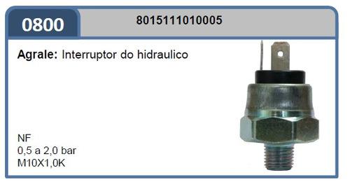 interruptor luz freio ma2o-800 agrale: hidraulico0,5a2,0bar