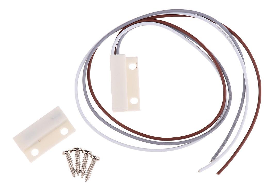 JIACUO MC-31 Interruptor magn/ético de Sensor de Ventana de Puerta con Cable para Detector de Sistema de Alarma dom/éstica