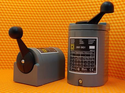 interruptor manual reversible tipo tambor, 5hp