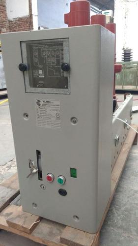 interruptor media tensión sf6 13,2 kv 630 amp. elmec